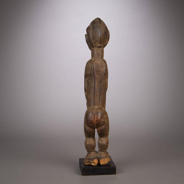 Late 19th Century Tribal Baule Figure For Sale 1