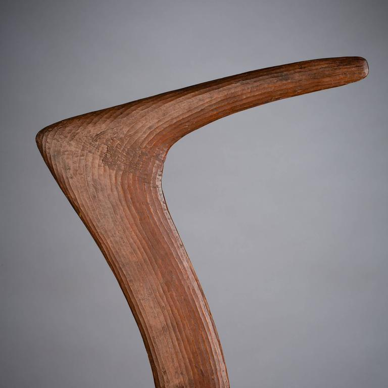 Australian Late 19th-Early 20th Century Tribal Boomerang, Australia For Sale