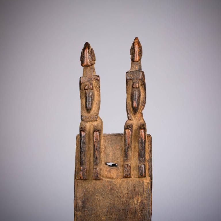 Late 19th Century Tribal Dogon Door Lock In Good Condition For Sale In New York, NY