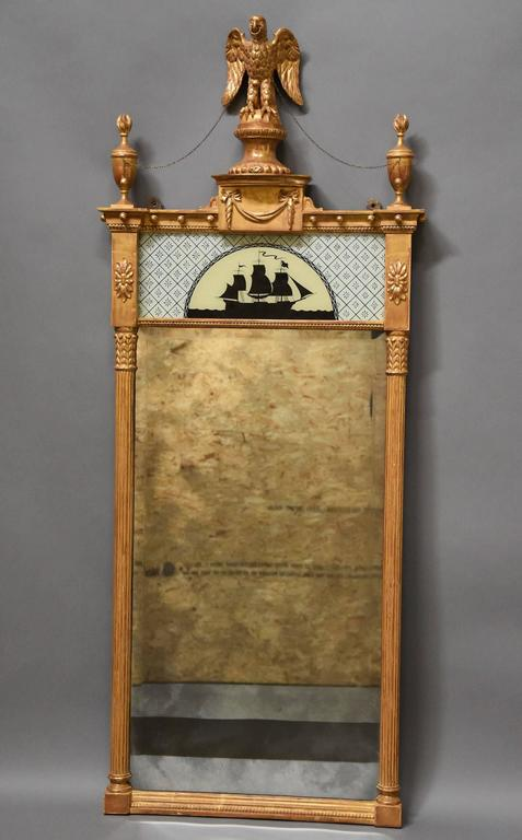 Superb Pair of Carved Giltwood Pier Mirrors in the Regency Style For Sale 4