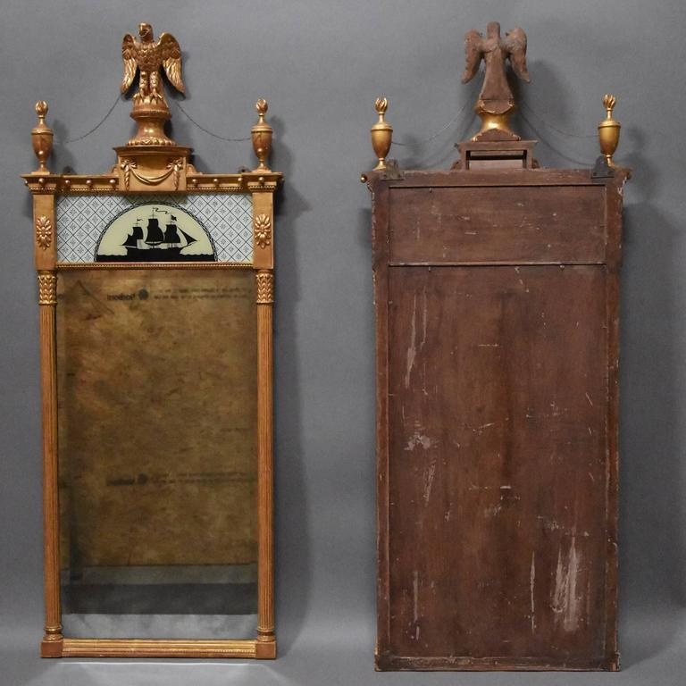 Superb Pair of Carved Giltwood Pier Mirrors in the Regency Style For Sale 5