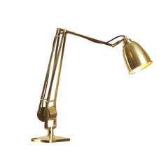 Mantodeus Table Lamp Mid-Century Modern 1950 Re-Edition by Woka Lamps Vienna