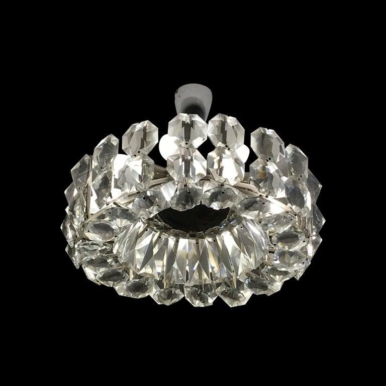 Austrian Petite Bakalowits Crystal Chandelier For Sale