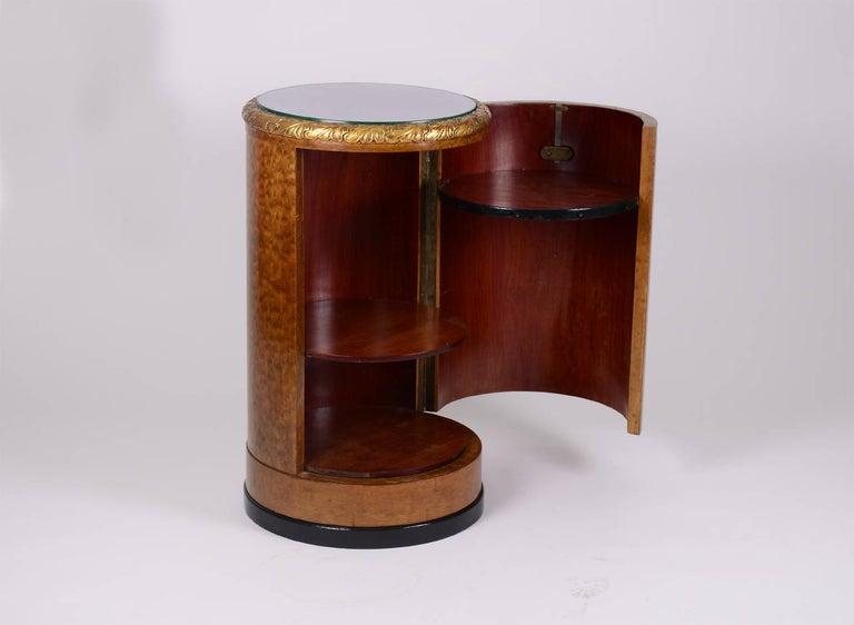 Hand-Crafted Original Art Deco Vanity Set/Ensemble, 1930-1940, European Bird's-Eye Maple  For Sale