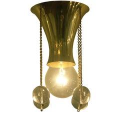 Josef Hoffmann Wiener Werkstaette Jugendstil Ceiling Lamp by Woka Lamps Vienna