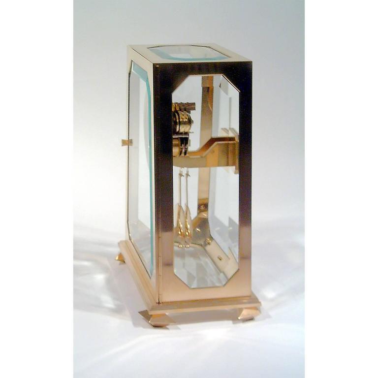 Jugendstil Adolf Loos Mantelpiece-Clock Designed in 1900 For Sale