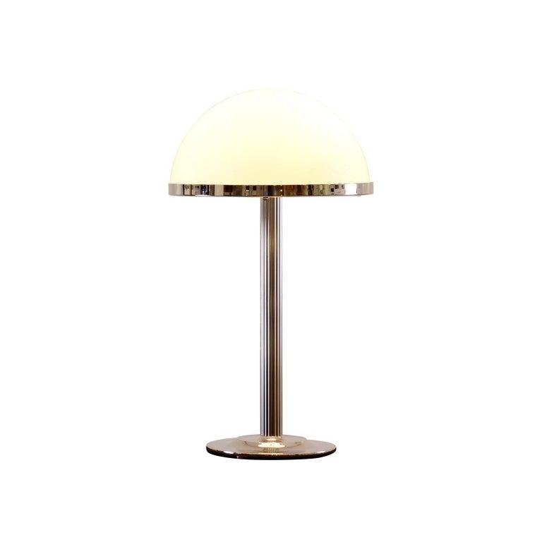 Jugendstil Adolf Loos Table Lamp 1910 Edition by Woka For Sale