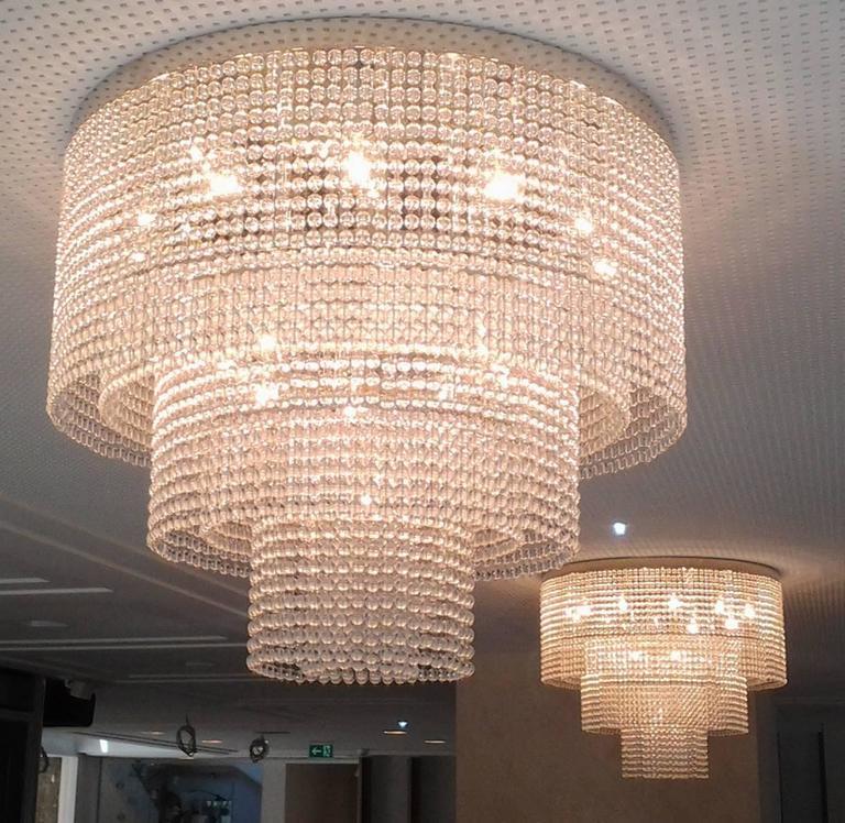 Vienna Secession Josef Hoffmann&Wiener Werkstatte Secessionist Ceiling Lamp, Re-Edition  For Sale