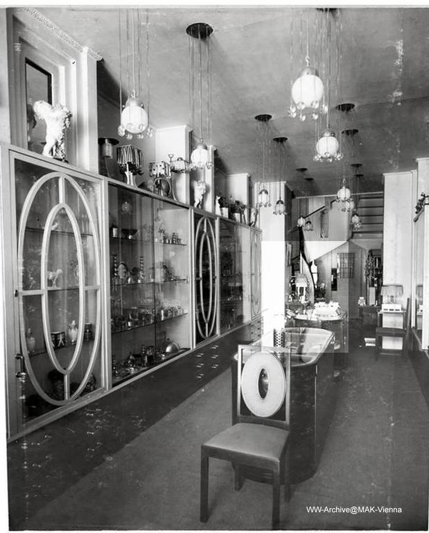 Tischlampe von Josef Hoffmann & Wiener Werkstätte, Frühes 20. Jahrhundert, Neuauflage 2