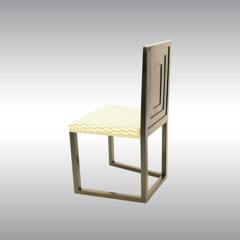 Austrian Pair of original Josef Hoffmann & Wiener Werkstätte Chairs 1904 Jugendstil   For Sale