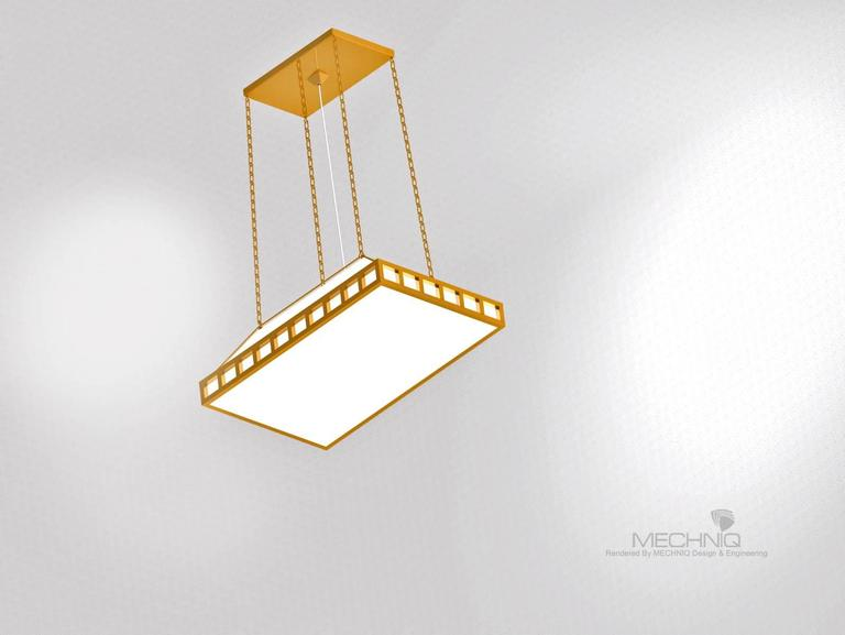 Material: brass laquered or nickel plated. Silk-shade comes in any colour. White inside. handmade. The bottom is covered with a hardened opaline-glass in a brass-frame different sizes and surfaces available. Total drop custom made   Originally