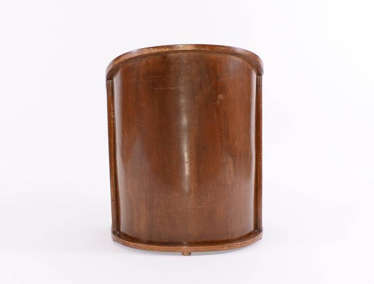 Austrian Josef Hoffmann 1908 Barrel-chair, Original, Kohn, Jugendstil, early 20th century For Sale
