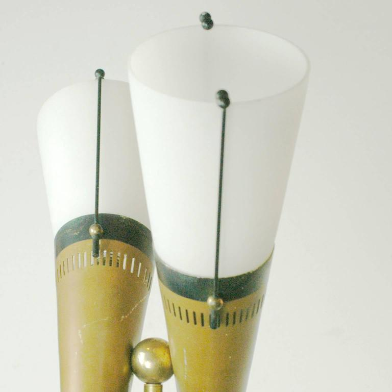 Italian 1950s Floorlamp in the Style of Stilnovo 5