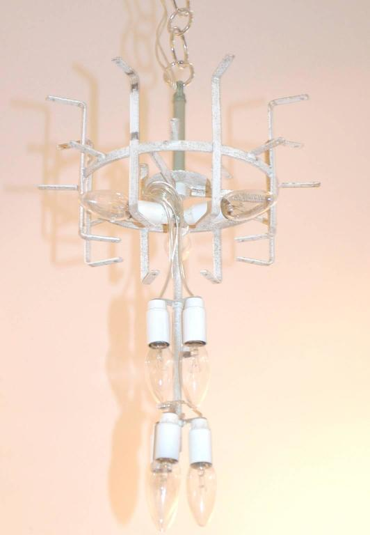 Italian Midcentury Tronchi Murano Glass Chandelier by Toni Zuccheri for Venini For Sale 3