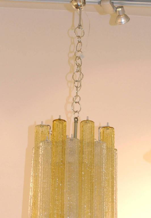 Italian Midcentury Tronchi Murano Glass Chandelier by Toni Zuccheri for Venini For Sale 2