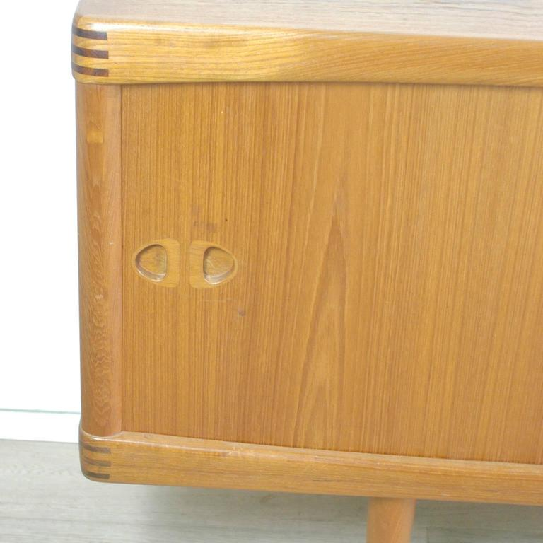 danish 1960s teak sideboard by h w klein for sale at 1stdibs. Black Bedroom Furniture Sets. Home Design Ideas