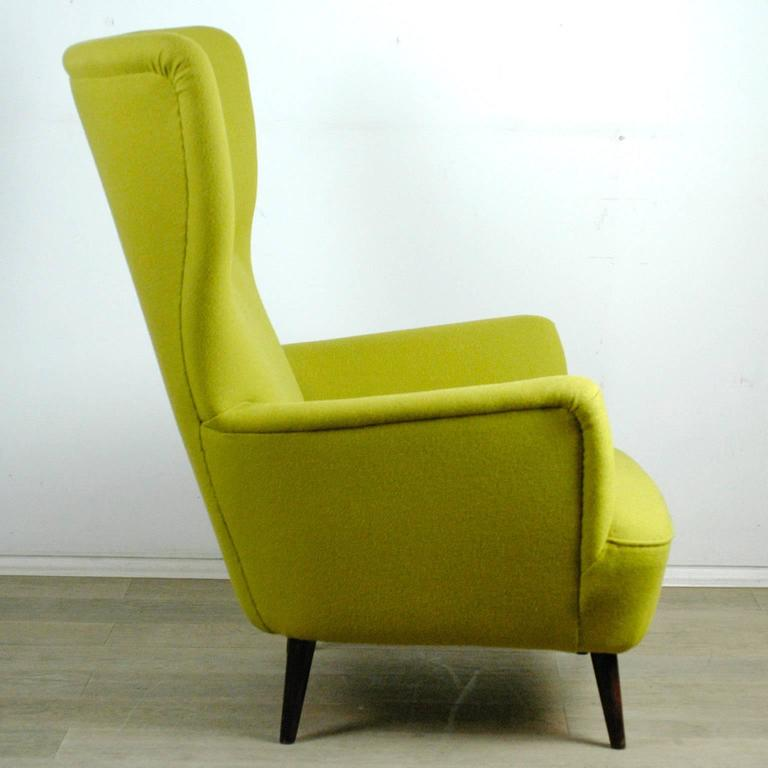 Austrian Modernist Wingback Armchair 3