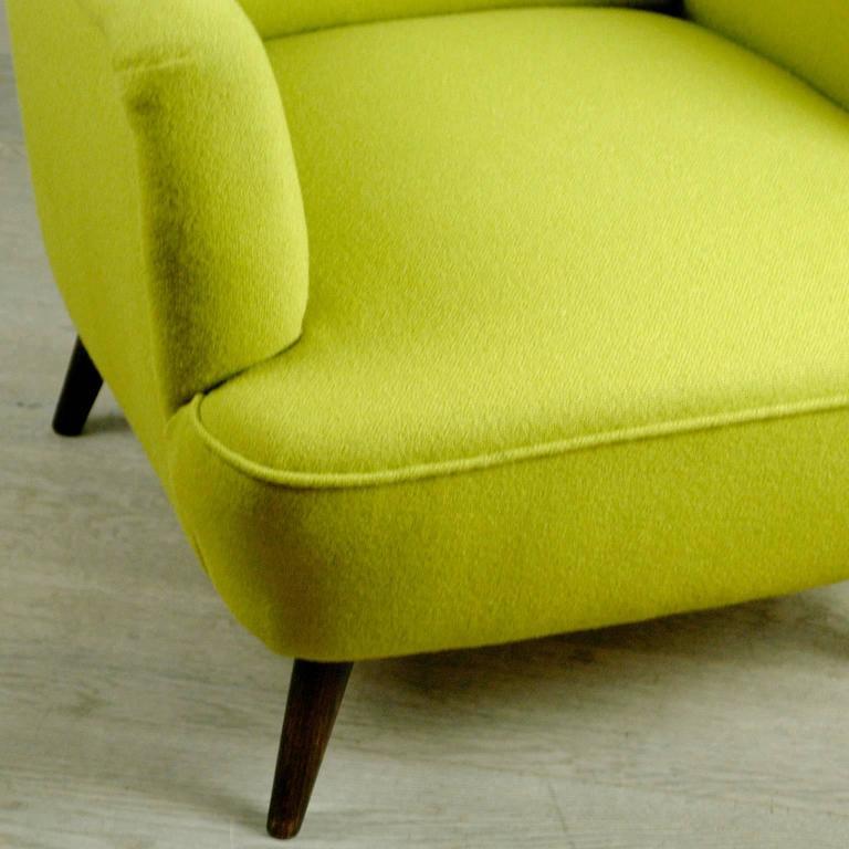 Austrian Modernist Wingback Armchair 5