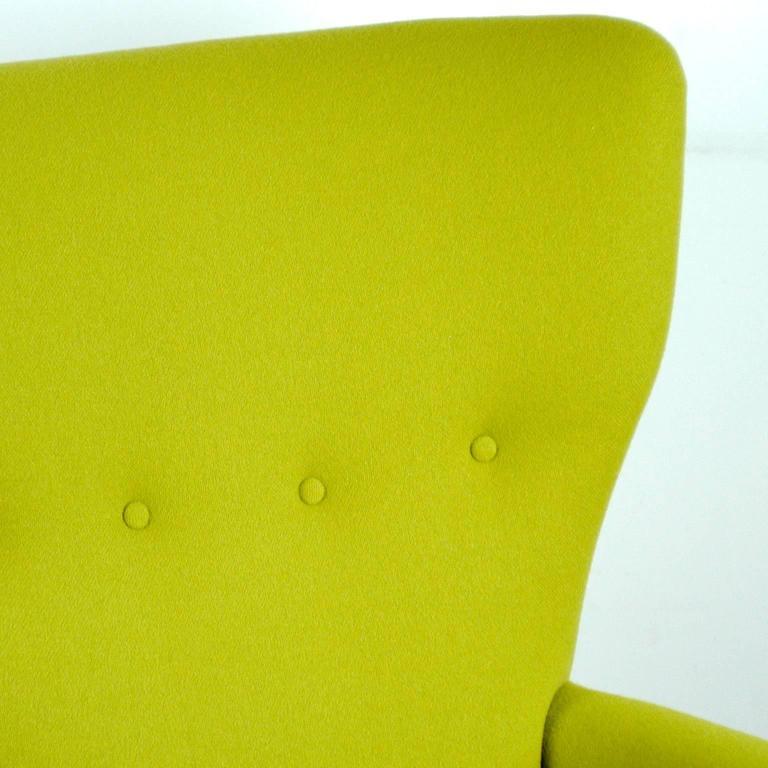 Austrian Modernist Wingback Armchair 8