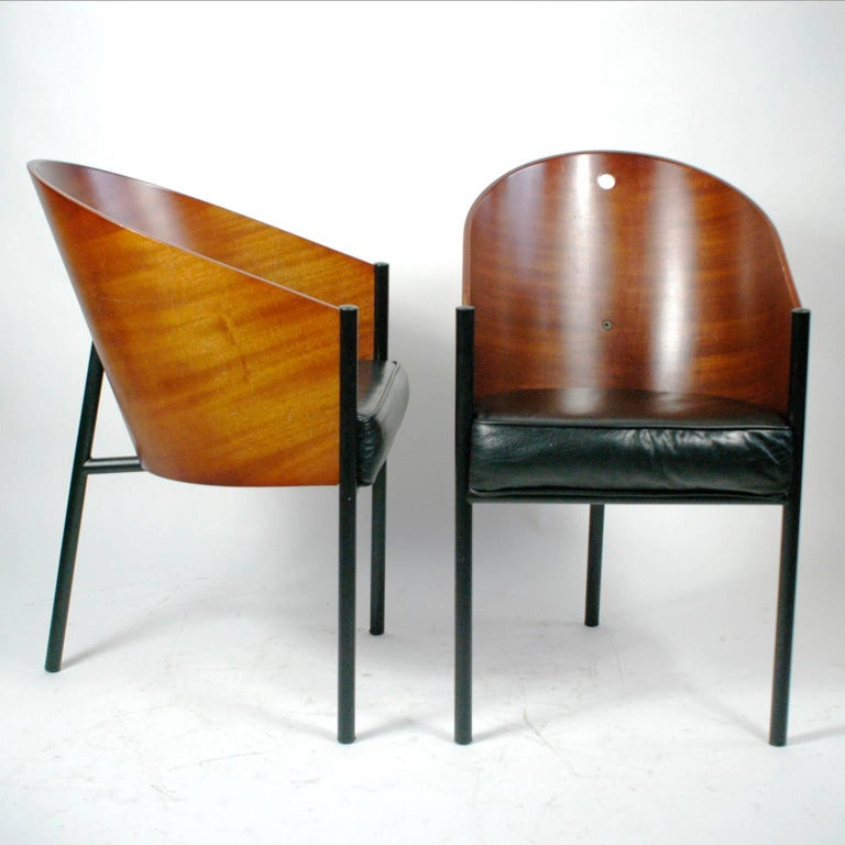 Pair of costes chairs by philippe starck for sale at 1stdibs - Chaises philippe starck ...