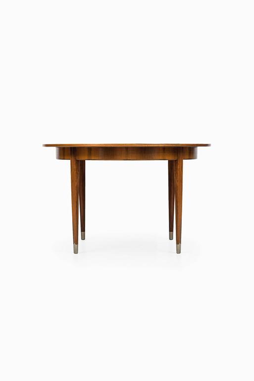Danish Rare Dining Table designed by Agner Christoffersen in Denmark For Sale