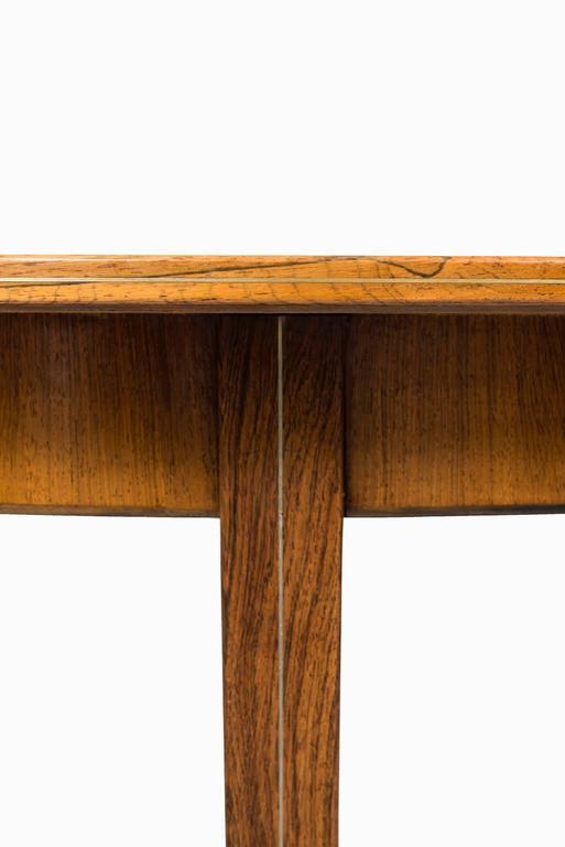 Scandinavian Modern Rare Dining Table designed by Agner Christoffersen in Denmark For Sale