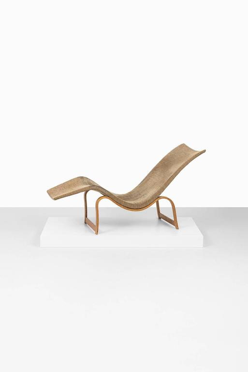 Bruno Mathsson Lounge Chair Model 36 by Karl Mathsson in Sweden For Sale 2