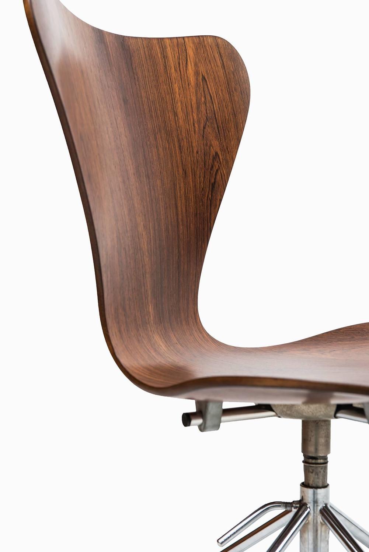arne jacobsen office chair model 3117 by fritz hansen in. Black Bedroom Furniture Sets. Home Design Ideas