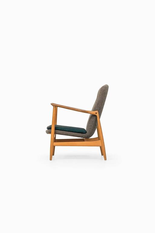 Very rare easy chair designed by Finn Juhl. Produced by Bovirke in Denmark.