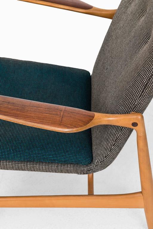 Rare Easy Chair Designed by Finn Juhl and Produced by Bovirke in Denmark 5