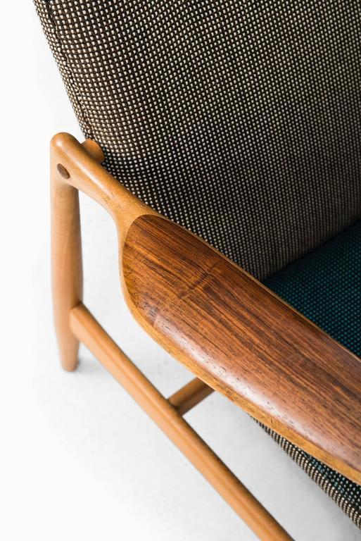 Rare Easy Chair Designed by Finn Juhl and Produced by Bovirke in Denmark For Sale 2