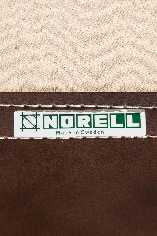Arne Norell Easy Chairs Model Inca by Arne Norell AB in Sweden For Sale 1