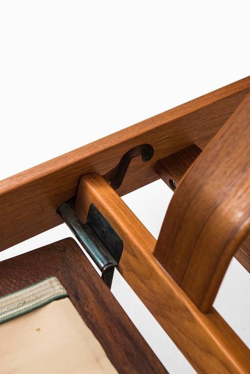 Arne Vodder Reclining Chair Model FD-164 by Cado in Denmark For Sale 2