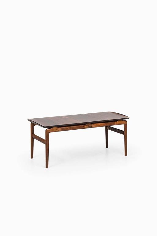 Peter Hvidt & Orla Mølgaard-Nielsen Coffee Table by France & Son in Denmark For Sale 1