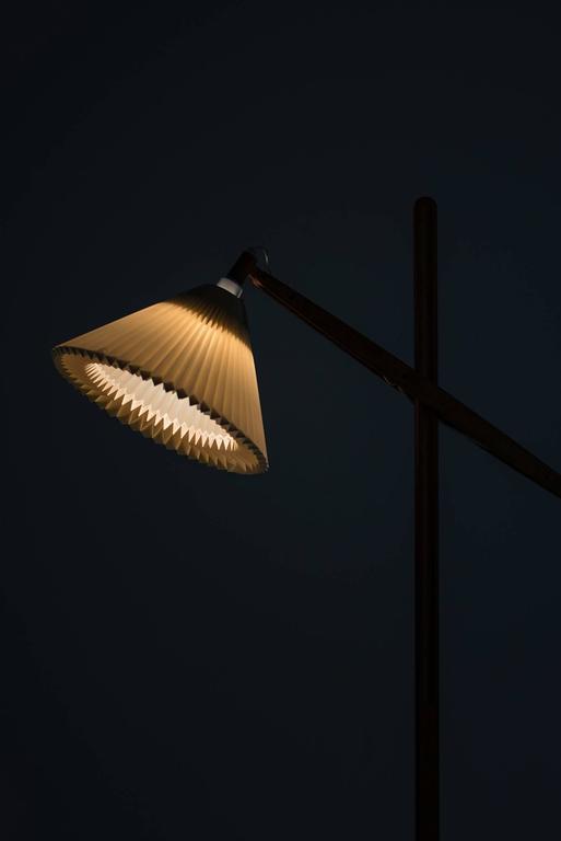 Vilhelm Wohlert Floor Lamp Model 325 Produced by Le Klint in Denmark 8