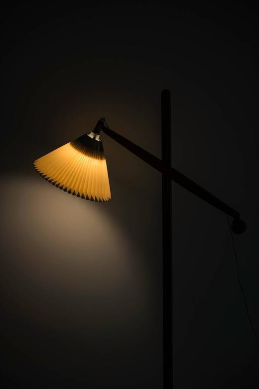 Vilhelm Wohlert Floor Lamp Model 325 Produced by Le Klint in Denmark 6