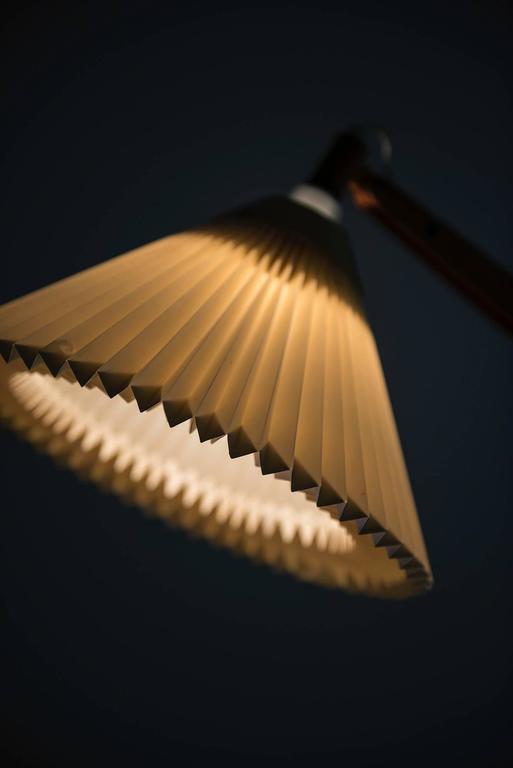 Vilhelm Wohlert Floor Lamp Model 325 Produced by Le Klint in Denmark 7