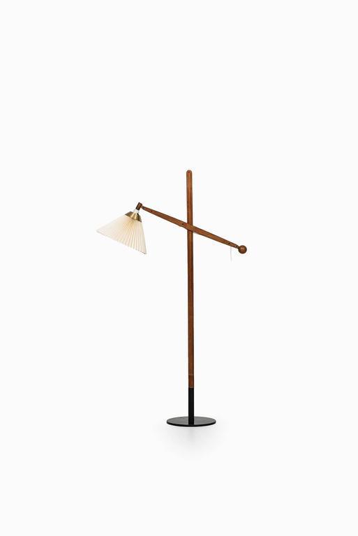 Vilhelm Wohlert Floor Lamp Model 325 Produced by Le Klint in Denmark 2