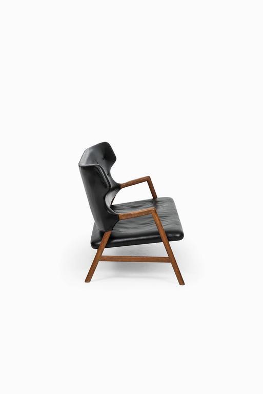 Danish Magnus Stephensen Sofa by A.J. Iversen in Denmark For Sale