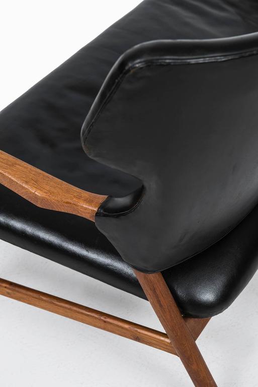 Scandinavian Modern Magnus Stephensen Sofa by A.J. Iversen in Denmark For Sale