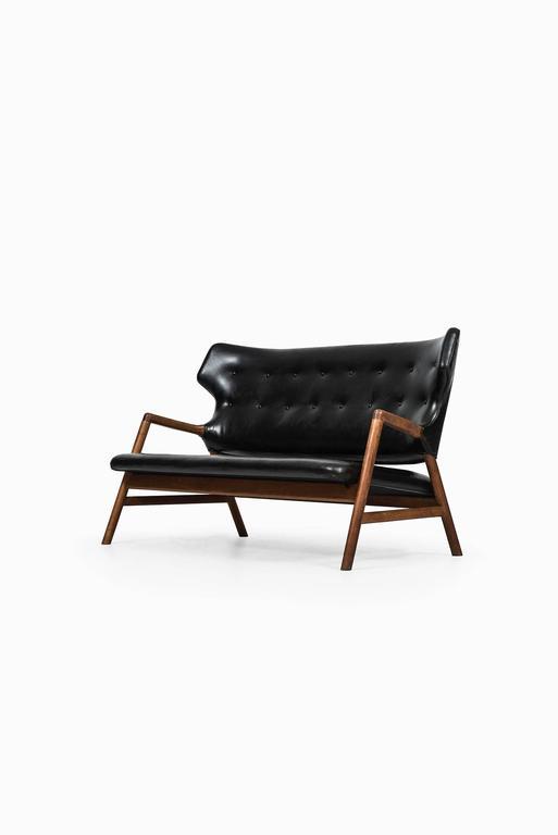 Magnus Stephensen Sofa by A.J. Iversen in Denmark For Sale 1