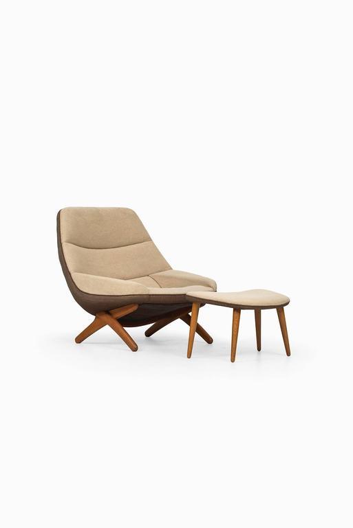 Illum Wikkelsø Easy Chair Model ML-91 by Michael Laursen in Denmark 3