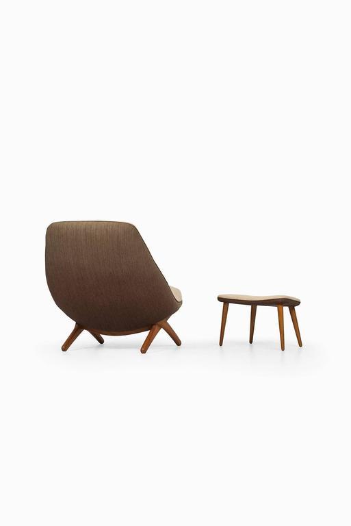 Illum Wikkelsø Easy Chair Model ML-91 by Michael Laursen in Denmark 4