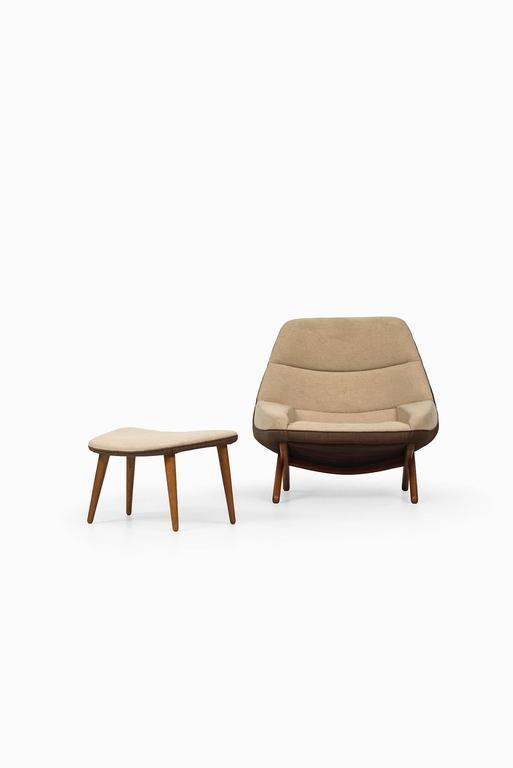 Illum Wikkelsø Easy Chair Model ML-91 by Michael Laursen in Denmark 2