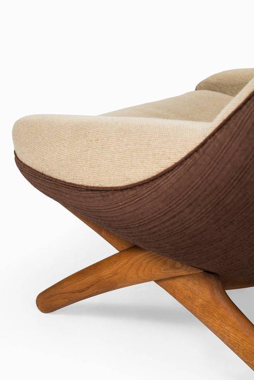 Illum Wikkelsø Easy Chair Model ML-91 by Michael Laursen in Denmark 6