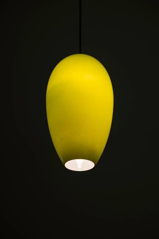 Scandinavian Modern Jo Hammerborg Ceiling Lamp by Fog & Mørup in Denmark For Sale
