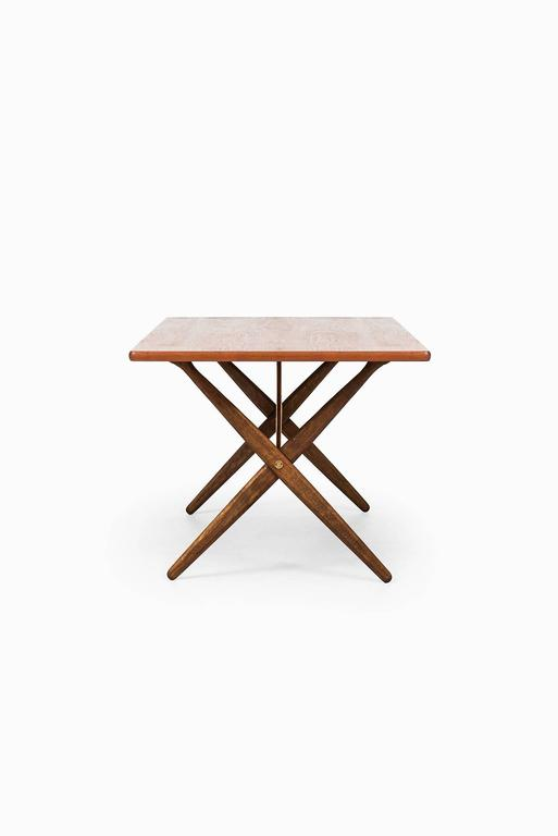 Scandinavian Modern Hans Wegner Dining Table/Desk Model At-303 by Andreas Tuck in Denmark For Sale