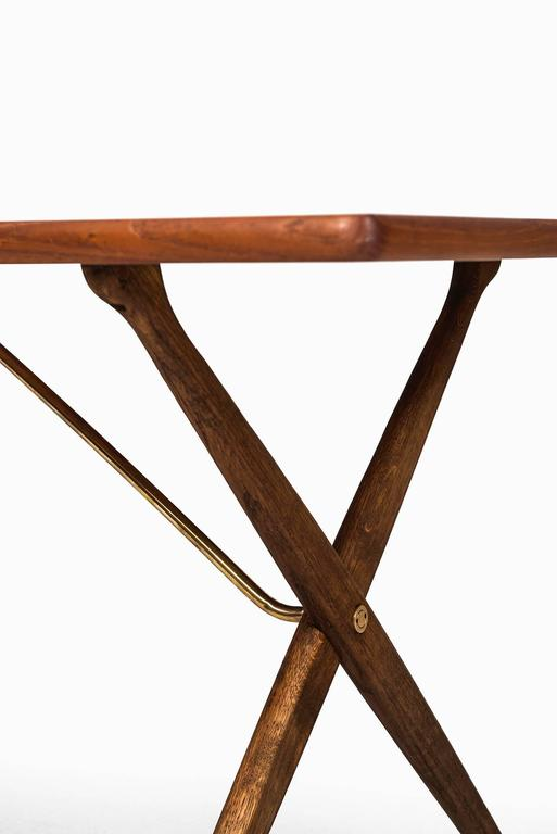 Danish Hans Wegner Dining Table/Desk Model At-303 by Andreas Tuck in Denmark For Sale