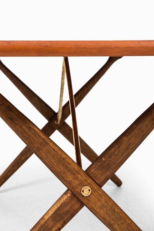 Mid-20th Century Hans Wegner Dining Table/Desk Model At-303 by Andreas Tuck in Denmark For Sale
