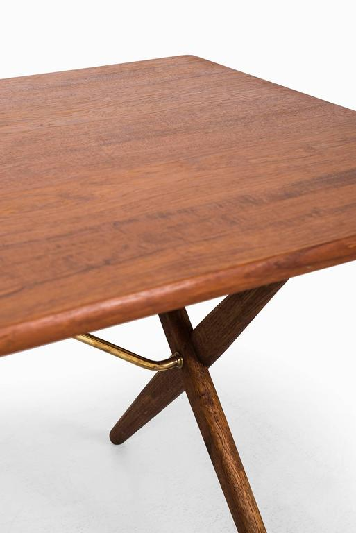 Hans Wegner Dining Table/Desk Model At-303 by Andreas Tuck in Denmark For Sale 1